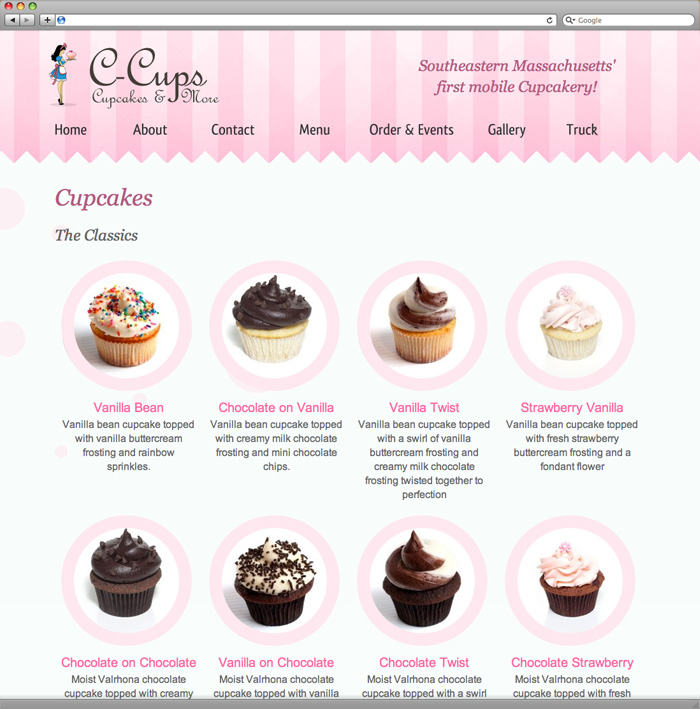 C-Cups Products Page